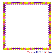 Little Circles free Cliparts Frames
