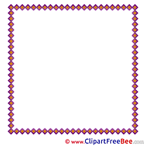 Puprle Square Pics Frames free Image
