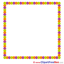 Quadrate free Cliparts Frames