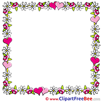 Quadrate printable Frames Images