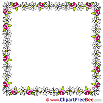 Square download Clipart Frames Cliparts