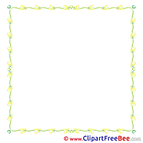 Yellow Clipart Frames Illustrations