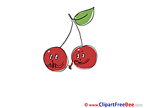 Cherries Clipart free Illustrations