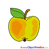Drawing Apple printable Images for download