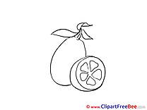 Lemon Clip Art download for free