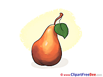Pear Clipart free Illustrations