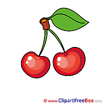 Ripe Cherries Pics free download Image