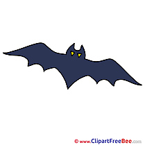Bat Cliparts Halloween for free