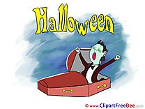 Coffin Vampire Pics Halloween free Image