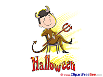 Devil Man Pics Halloween free Cliparts
