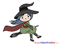 Girl Witch Pics Halloween free Image
