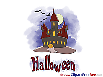 Picture Castle Night free Cliparts Halloween