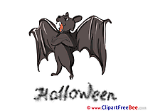 Scary Bat Halloween Illustrations for free