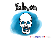 Skull printable Halloween Images