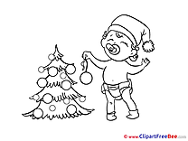 Baby Clipart New Year Illustrations
