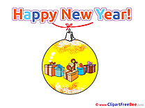 Ball Garland New Year free Images download