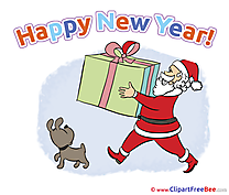 Beautiful Card New Year free Images download