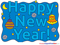 Bell Night New Year Clip Art for free