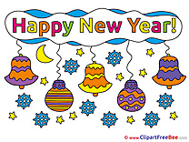 Bells Clipart New Year free Images