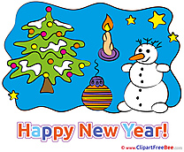 Clip Art download New Year