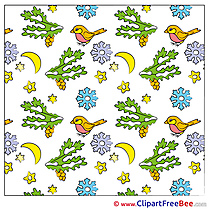 Decoration New Year Clip Art for free