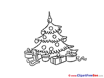 Download Christmas Tree Clipart New Year Cliparts