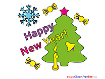 Download Tree Clipart New Year Cliparts