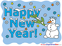 Free Snowman Illustration New Year