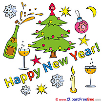 Free Tree Cliparts New Year