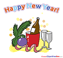 Happy New Year download Illustration
