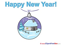 House Ball download New Year Illustrations