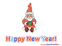 Little Present Cliparts New Year for free