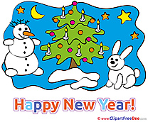 Merry Christmas printable New Year Images