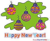 Pics Balls New Year free Cliparts