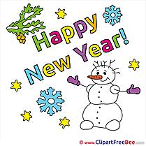 Pics Snowman New Year free Image