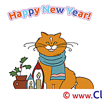 Plant Cat download Clipart New Year Cliparts