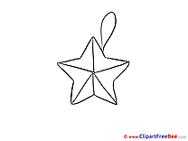 Star Clip Art download New Year