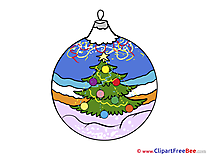 Toy Ball Clipart New Year Illustrations
