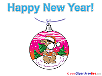Toy Dog free Illustration New Year