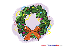 Wreath download Clipart New Year Cliparts