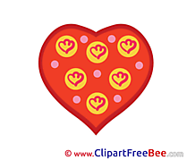 Hearts Love Clip Art for free