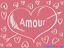 Love Arrow free Illustration Hearts