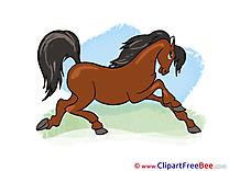 Animal printable Illustrations Horse