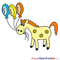 Balloons Horse free Images download