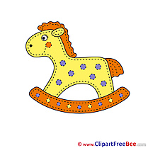 For Children free Cliparts Horse