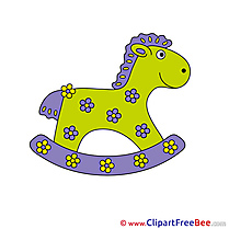For Kids Wooden free Illustration Horse