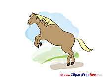 Nature free Cliparts Horse