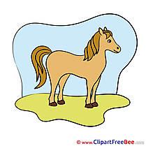 Nature Horse Clip Art for free