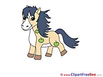 Pony Clip Art download Horse