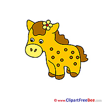 Soft Toy free Illustration Horse